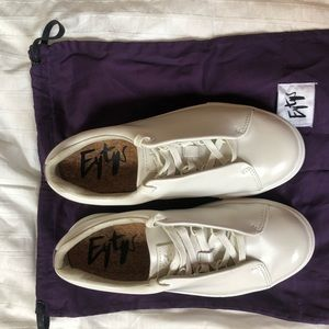 EYTYS | Doja Leather Off-White Sneakers